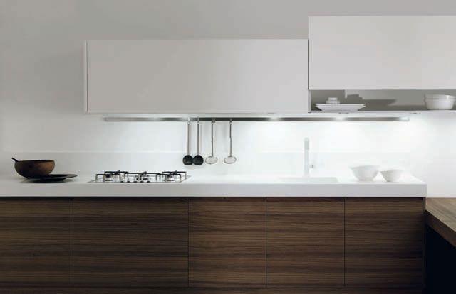 Muebles de cocina minimalistas modelos Cusan Nogal y Sedamat Mate DOCA Reforma tu cocina con Doca en Sánchez Plá Paterna, Valencia. http://www.sanchezpla.es/muebles-de-cocina-acabados-cusan-y-sedamat-de-doca/ #cocina #muebles