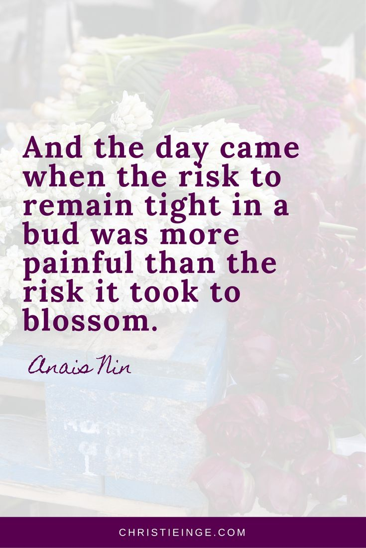 dreams quotes \ make changes in life quotes inspiration and wisdom \ moving forward \ personal growth \ Fear Quotes \ Anais Nin