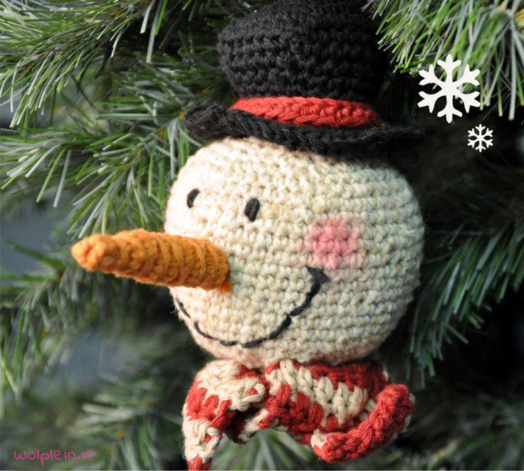 haakpatroon-sneeuwpop-kerst