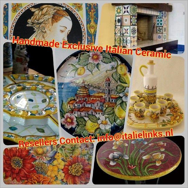 Is er in Nederland (nog meer) interesse in hoogwaardig handgemaakt Italiaans Keramiek? BtoB import via ons netwerk! Resellers kunnen hun int...