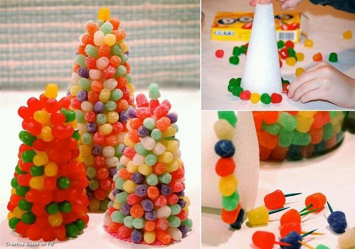 GumDrop Christmas Tree | Christmas Candies, Cookies and ...