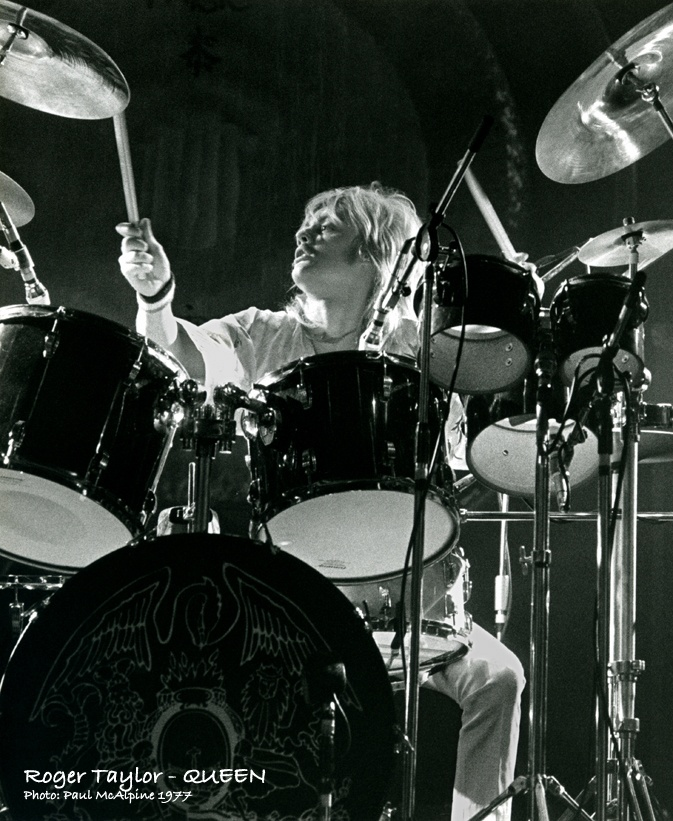 Roger Taylor - Drum | Queen | Pinterest | The o'jays ...