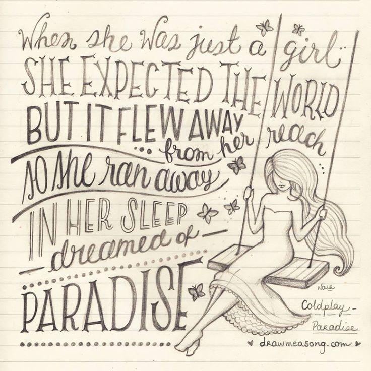 Lyric birds courting song lyrics : Best 25+ Paradise song ideas on Pinterest | Paradise song lyrics ...