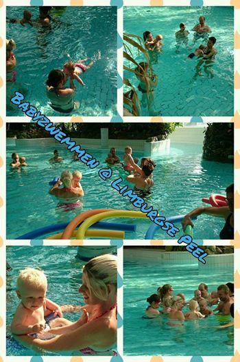 2 x per week babyzwemmen in de Aqua Mundo. Heerlijk voor vader/moeder en kind!