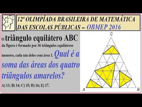 Triângulos equiláteros, área sombreada, área do triângulo, base x altura / 2, superfície hachurada, região destacada, desenho técnico, decomposição de figuras planas geométricas, paralelogramo, operações matemáticas básicas,