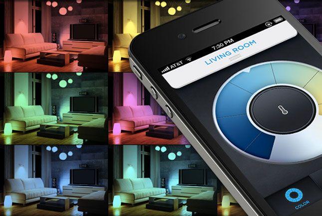 LIFX-ColorInternet Of Things, Lifx Smart, Gadgets, Trav'Lin Lights, Smartphonecontrol Lightbulbs, Colors, Lights Bulbs, Led Lights, Smartphone Control