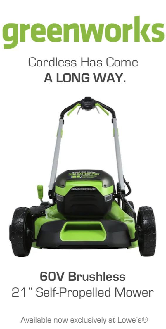 Gas Is A Thing Of The Past Features Performance Delivered By The Next Cordless Generation In 2020 Lawn Mower Mower Self Propelled Mower