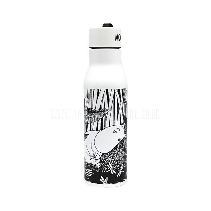 Flask / Drinking Bottle . Moomin - Midwinter