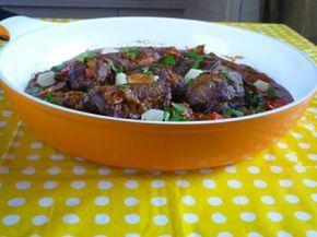Joues de porc mijotées aux épices