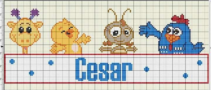 César - galinha pintadinha