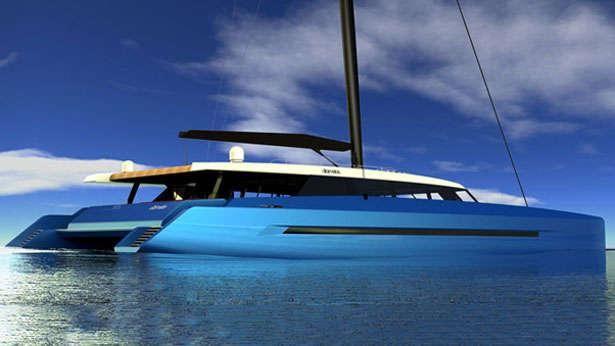 Sunreef 🇫🇷 Catamaran sail yachts Intoroduces 156