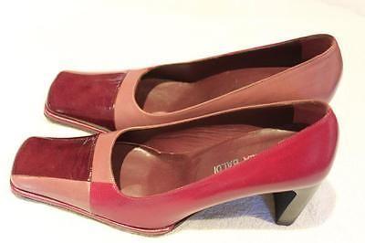 LELLA-BALDI-VERO-CUOIO-ladies-shoes-Made-in-Italy-Size-38-5-3