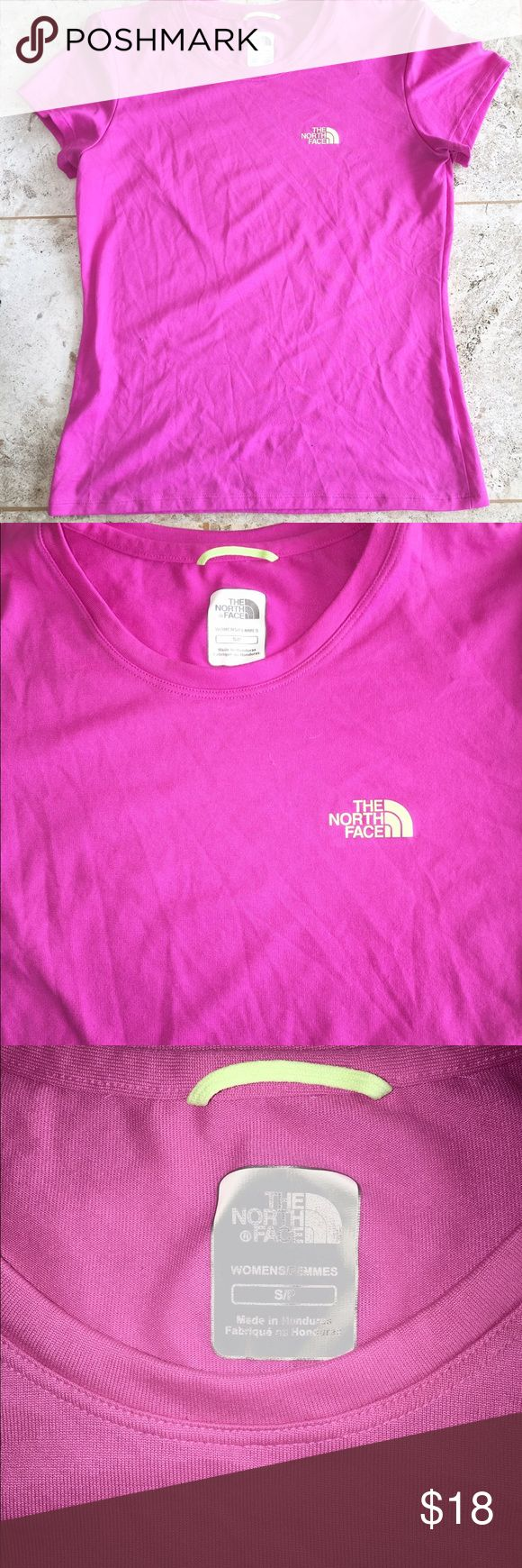 North Face Women's T Shirt North Face Women's T Shirt. Size small petite. North Face Tops