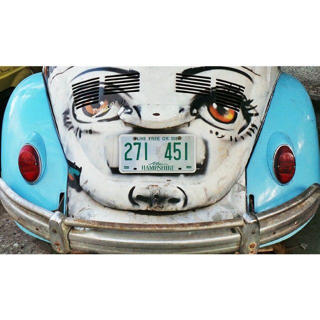 Rio de Janeiro vintage car by la ciudad al instante #laciudadalinstante #riodejanairo #brasil #ig_brasil #ig_americas #vw…