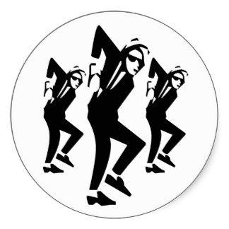 Ska Rude Boy Dancing  Sticker
