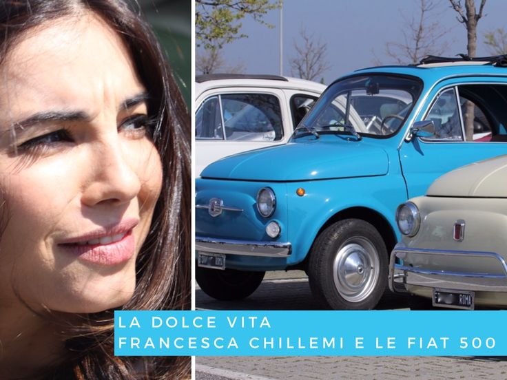 My first outing with the Fiat 500 Club Roma is dedicated to The Sweet Life. Relive the excitement of roman movies of the late 50's; this is the goal. Idea comes from McArthurGlen Castel Romano Designer Outlet which combines the Mediterranean charm of sicilian actress, Francesca Chillemi, with the legendary italian Fiat 500 car.