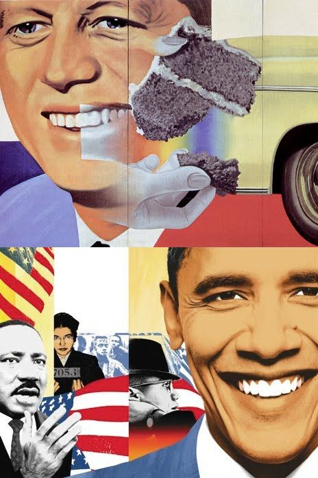 James Rosenquist: Portrait Collages