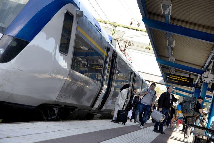 Borlänge-Stockholm, endast 2,5 timme med tåg