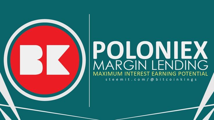 Poloniex is a pure Crypto to Crypto exchange based in the United States. Poloniex Margin Lending Tutorial | Use PoloniexLendingBot for Maximum Interest Earning Potential