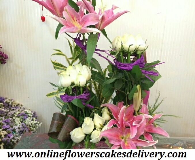 Make someone feel happy and send flowers to Kapurthala. Flower delivery In Kapurthala at best price online. Best flower online shop in Kapurthala. Online flowers & cakess delivery in india. #India #IndiaFlorist #Onlineflorist #Samedayflowersdelivery #Samedaycakesdelivery #Freshflowers #Whiteroses #Pinkliliy URL :- www.onlineflowerscakesdelivery.com