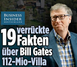 Musik-Tapete, Karibik-Sand, Trampolin-Raum: 19 verrückte Fakten über #scorpio Bill Gates 112 Millionen Euro teure Luxus-Villa www.businessinsider.de/19-crazy-fakten-about-bill-gates-123-million-house-2015-12