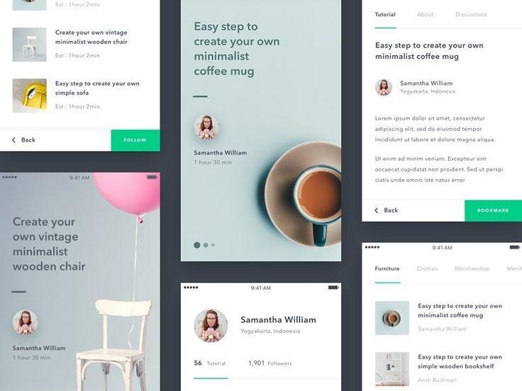 "398 Me gusta, 4 comentarios - Daily UI/UX (@daily.ui.ux) en Instagram: ""Elegant UI by https://dribbble.com/dwinawan Visit bestfolios.com to get best new portfolio designs…"""