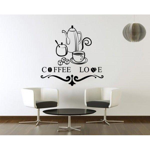 Coffee Love - http://stickere.net/coffee-love