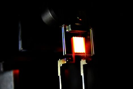 A nanophotonic comeback for incandescent bulbs? Researchers combine the warm look of traditional light bulbs with 21st-century energy efficiency.