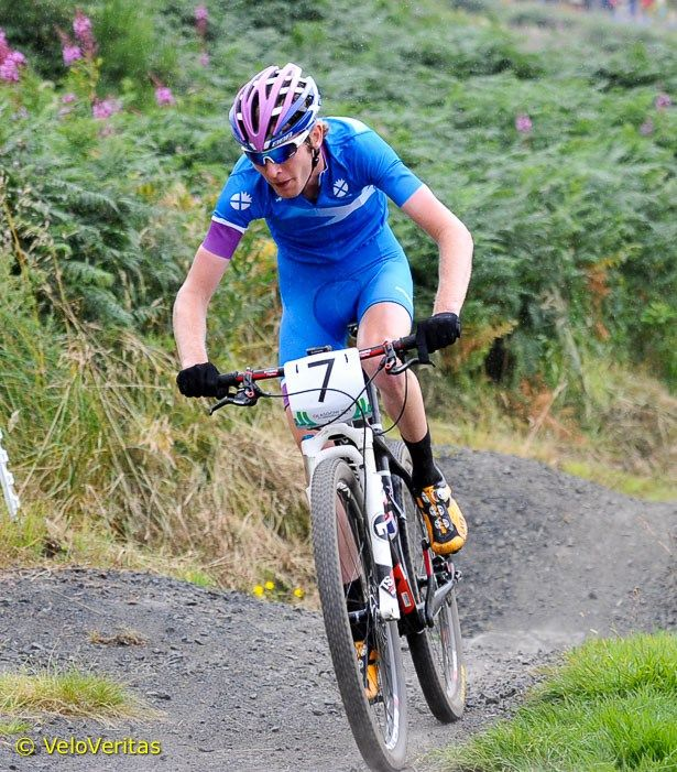 Grant Ferguson - Mountain Biker.