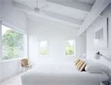 Winter white decor always works in mod minimalist spaces, such as this ...: Winter White, White Decor, Things White