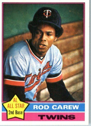 1976 Topps #400 Rod Carew Minnesota Twins Baseball Card In a Protective Screwdown Display Case by Topps. $8.95. 1976 Topps #400 Rod Carew Minnesota Twins Baseball Card In a Protective Screwdown Display Case
