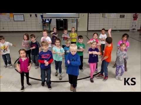 Jump Dance - Riverside Elementary PE - YouTube
