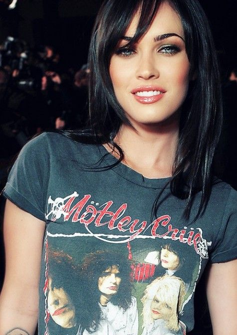 Megan Fox before she messed up her face