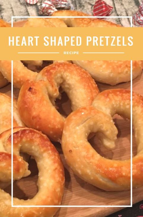 Valentine's Day is tomorrow and I thought it was time for another heart-shaped idea. Today, my sister-in-law and I made some delicious heart-shaped homemade pretzels. My house seriously smelled like I was running a bakery. I need to find this scent for a wall plug-in. …