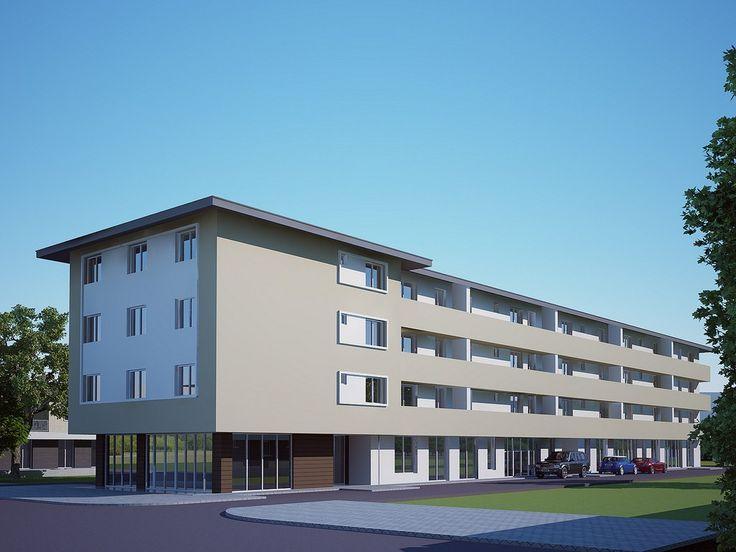 Ansamblu residential cu garsoniere si apartamente de 2 camere, preturi incepand de la  29.000 euro