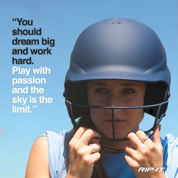 athletes motivation passion softball inspirational