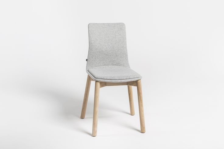 LINAR PLUS #chairs, designed by #PiotrKuchciński, #upholstered with a smooth line connected seat. 2016 #novelty