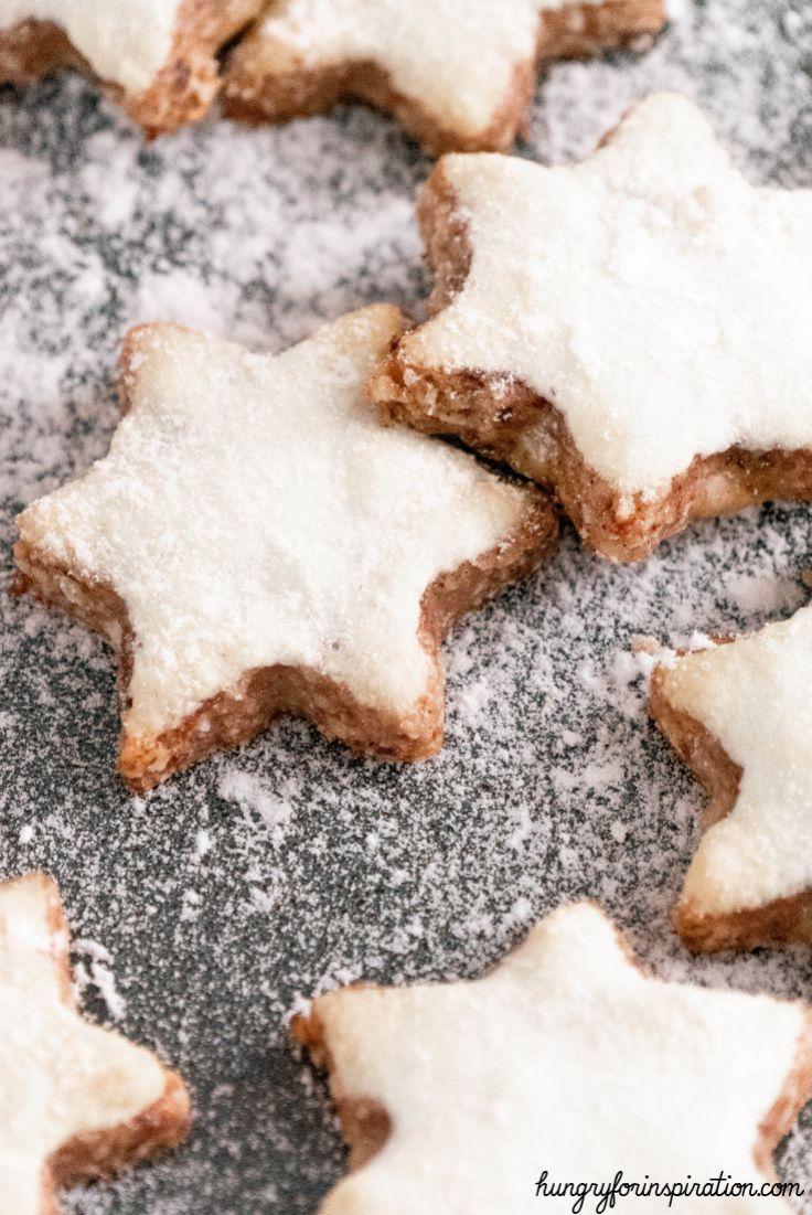 Keto Cinnamon Star Cookies Keto Christmas Cookies Keto Treats Low