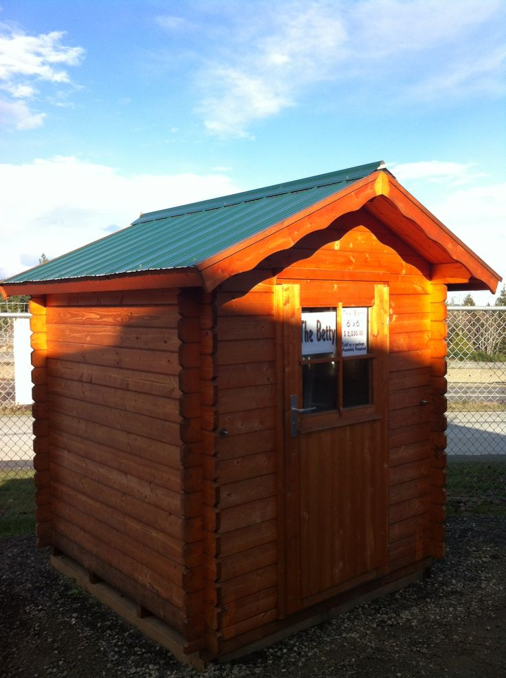 betty cute little log garden shed - Garden Sheds Victoria Bc