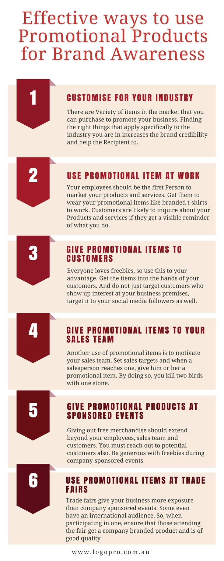 6 effective ways to use promotional products for Brand Awareness #promotionalproducts #Promotionalitems #Business #Corporategifts