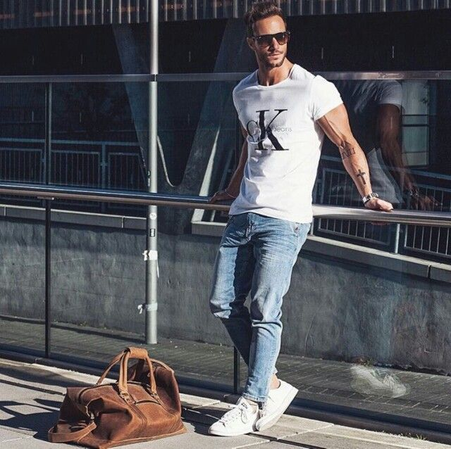 Street style by Magic Fox #fashion #casual #menswear