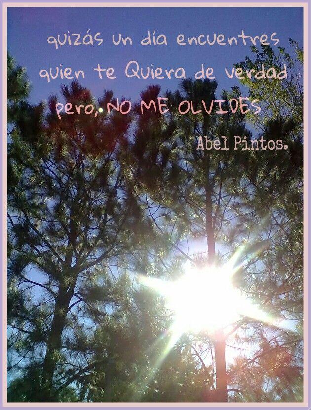 #Abel Pintos, #remember