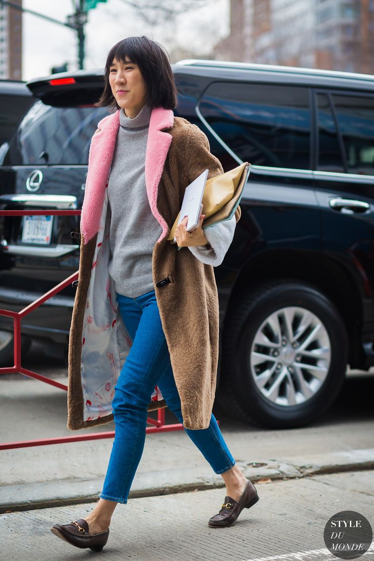 New York Fashion Week FW 2016 Street Style: Eva Chen