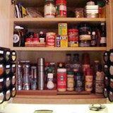 Sue's Maximized Spice Storage