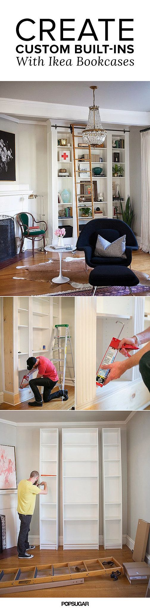 The Most Expensive-Looking Ikea Hack We've Ever Seen - from The Makerista via Popsugar