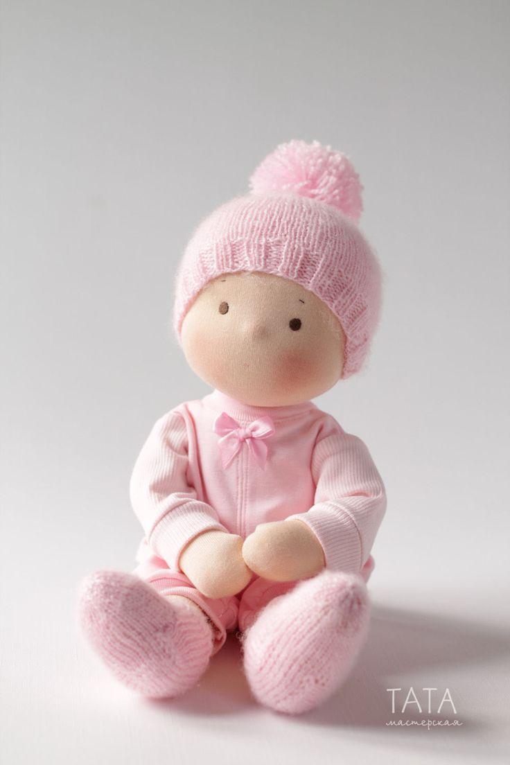 Купить Кукла Непоседа, по вальдорфским мотивам - вальдорфская кукла, вальдофская игрушка, вальдорфские куклы