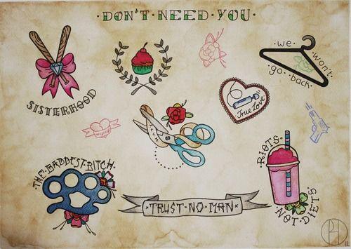 misandry tattoo inspiration