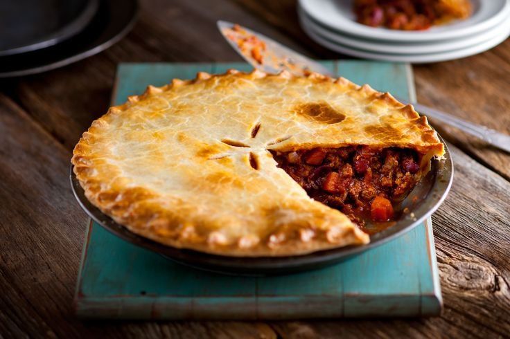 Mexican Beef Pie with Cheddar Crust #spreadtheword