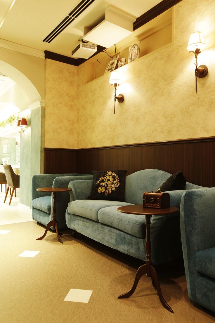 Beauty Salon Interior Design Ideas Antique Bleu Sofas Hair Designs Space Decor Tokyo