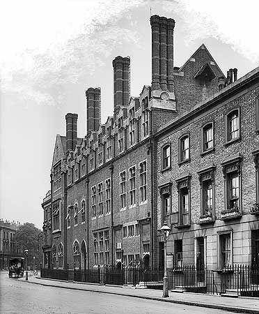 St Stephen's National Schools, Westbourne Park Road, Jul 1910